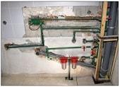 Ремонт на водопровод