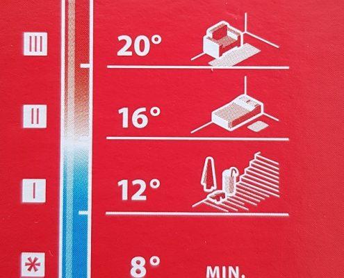 Термостатична глава DANFOSS RAS-C2