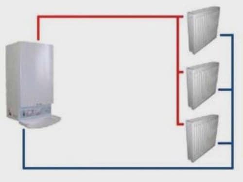 схема на отоплителна система