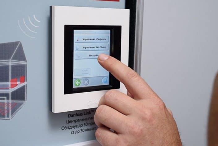 Danfoss Linc CC безжично свързване към WI-FI