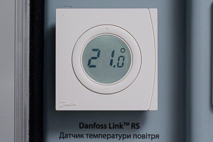 Danfoss Linc CC управление на термостат LINK RS