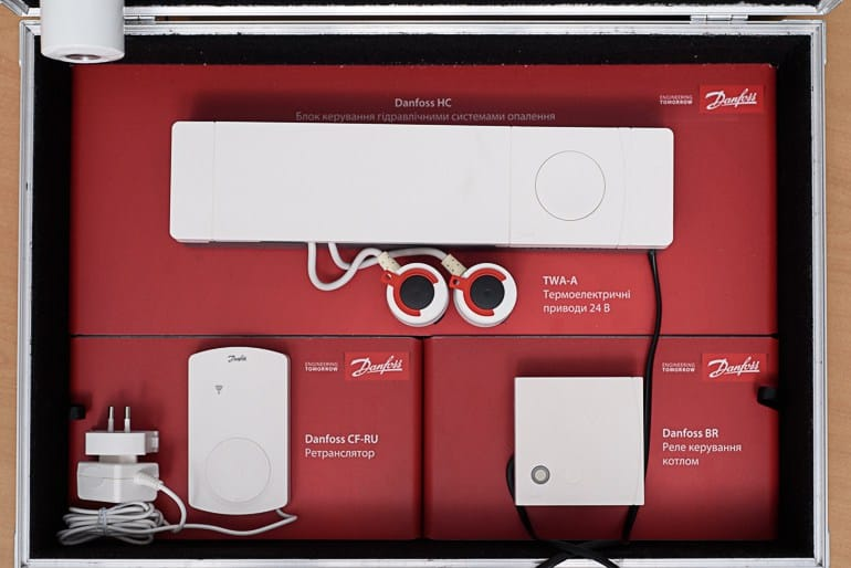 Danfoss Linc CC управление на хидроконтролер с 5 или 10 извода