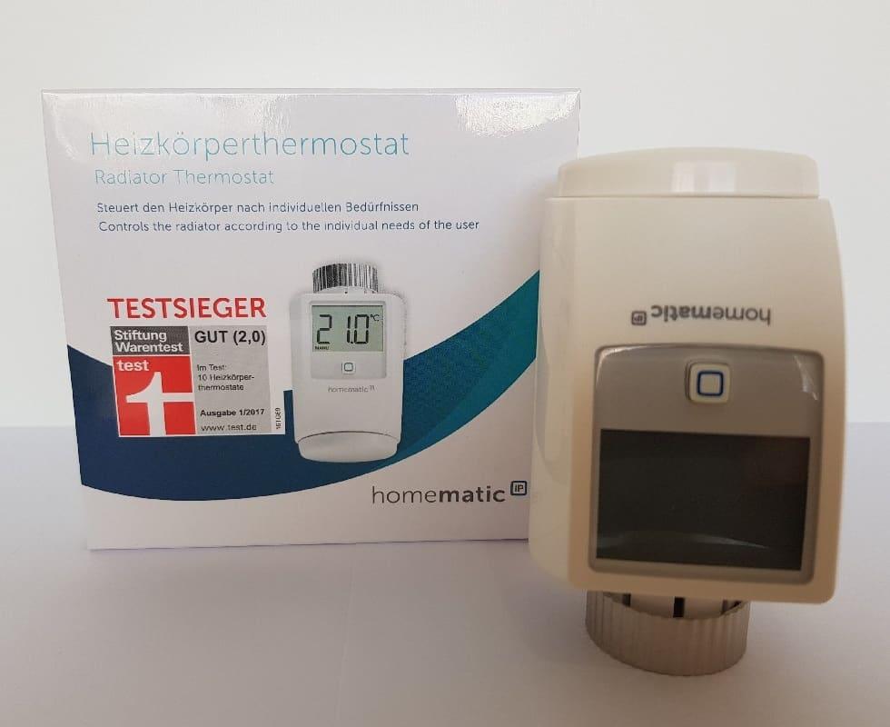 Програмируема термоглава Homematic IP