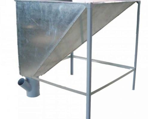 Метален бункер за пелети