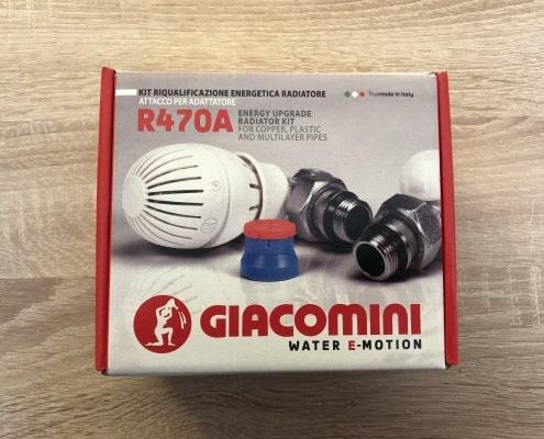 Термовентил GIACOMINI прав ф16 комплект
