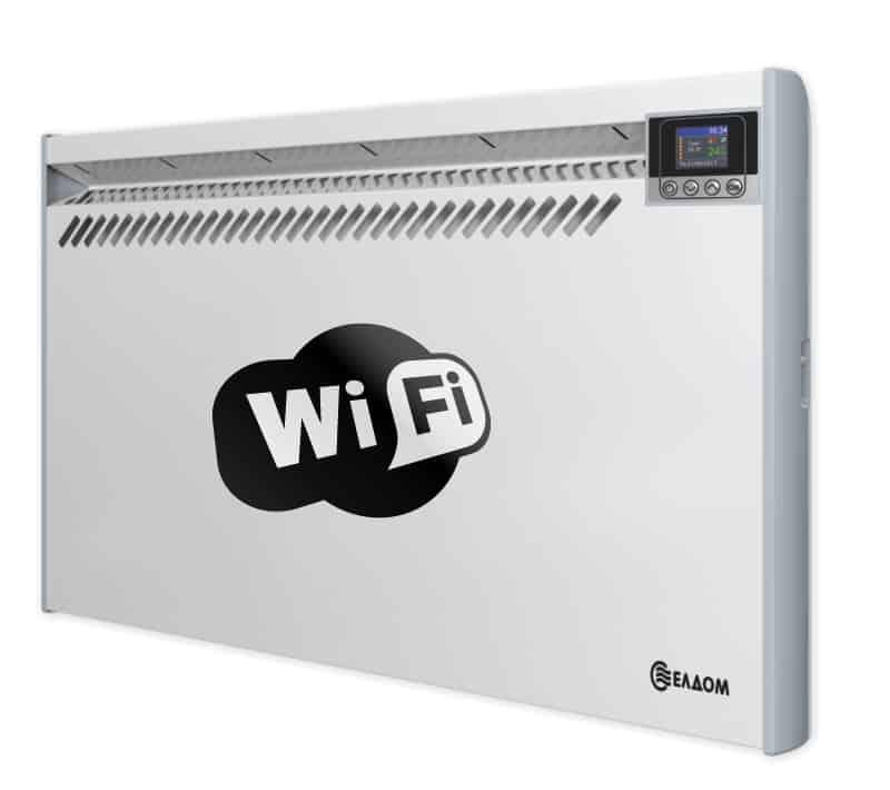 Електрически конвектори Елдом wi-fi: електронно управление