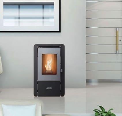 Топловъздушна пелетна камина ARTEL ELIT FIRE