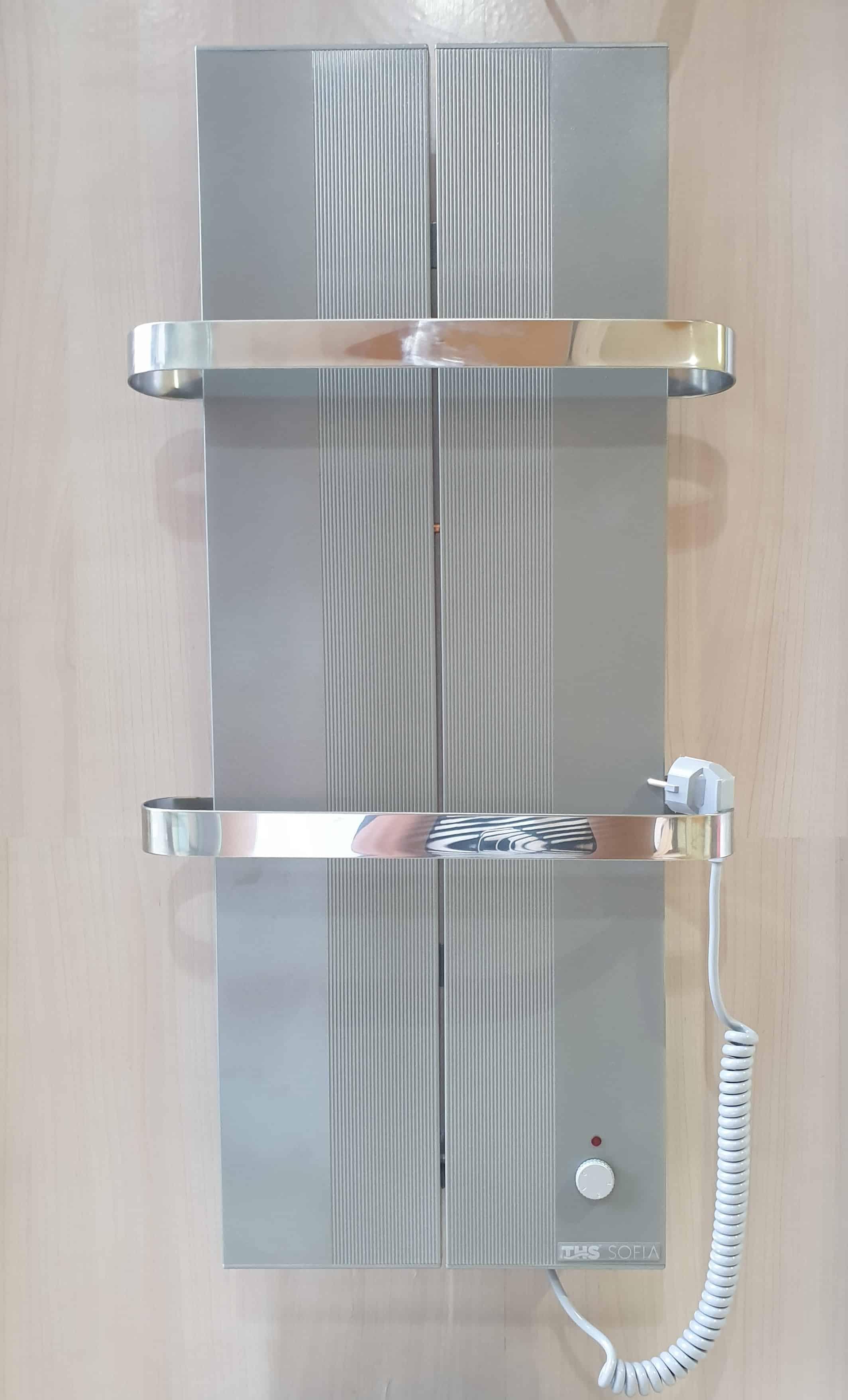 Електрическа лира за баня SOFIA металик
