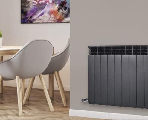 Монтаж алуминиеви радиатори