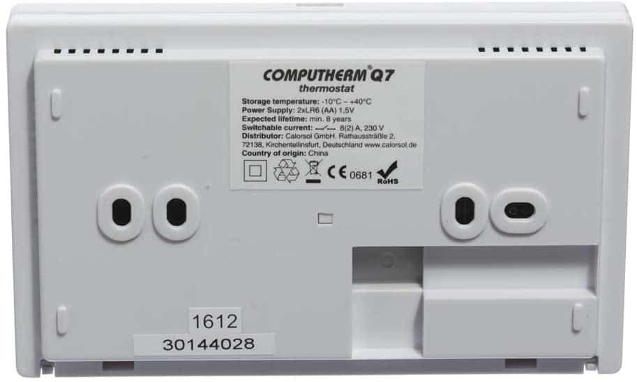 Програмируем стаен термостат Computherm Q7
