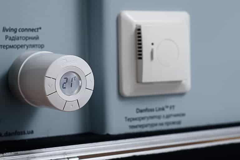 Програмируема термоглава Danfoss living connect