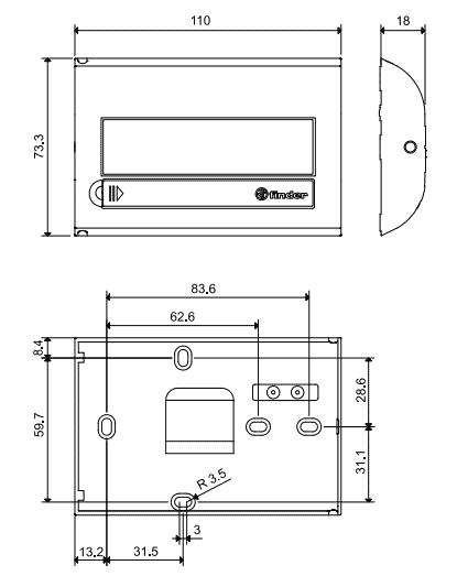 Стаен термостат Finder 1C 71
