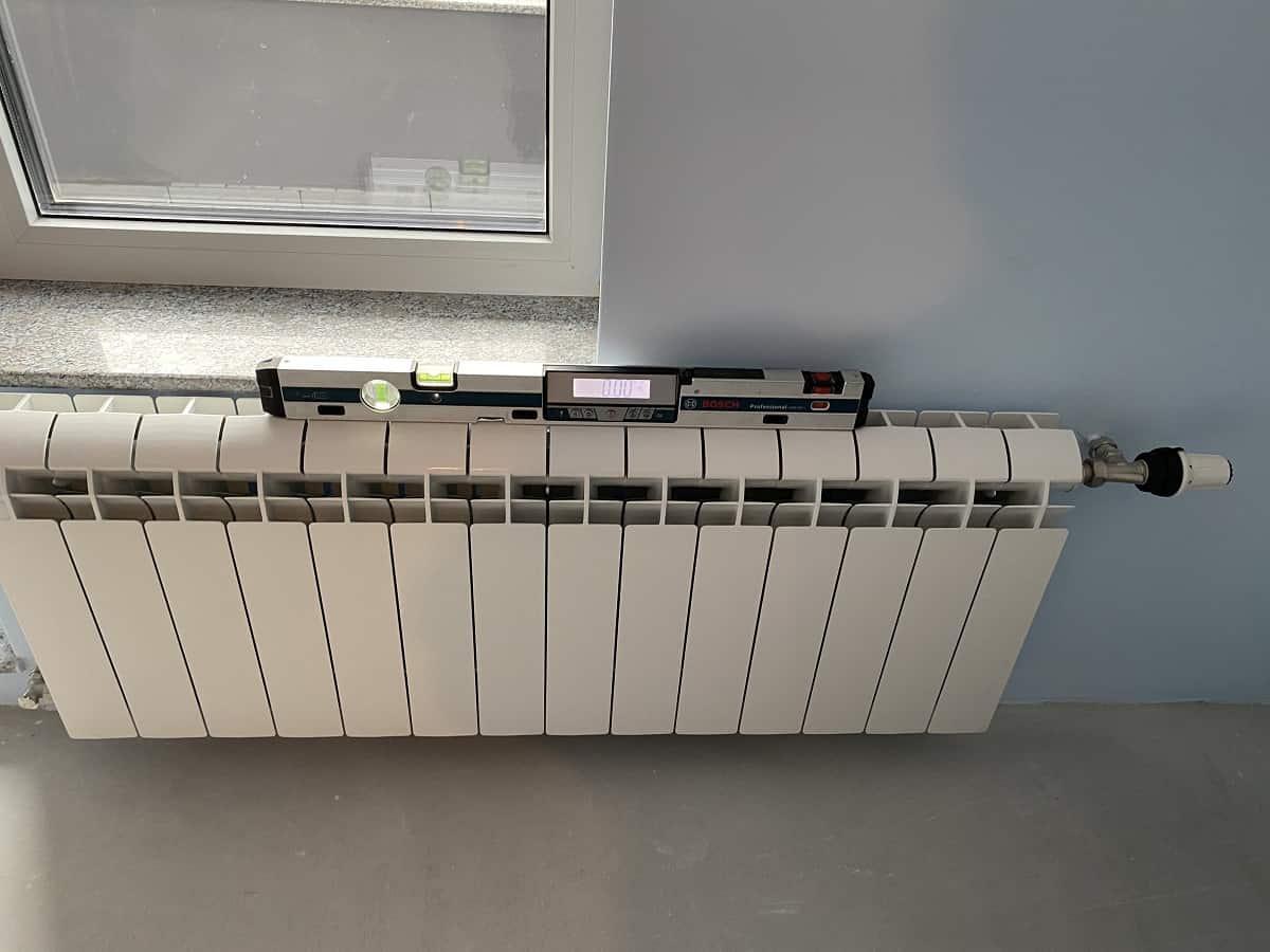 Монтаж на алуминиеви радиатори