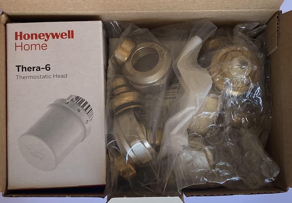 Термовентил Honeywell прав комплект ф16