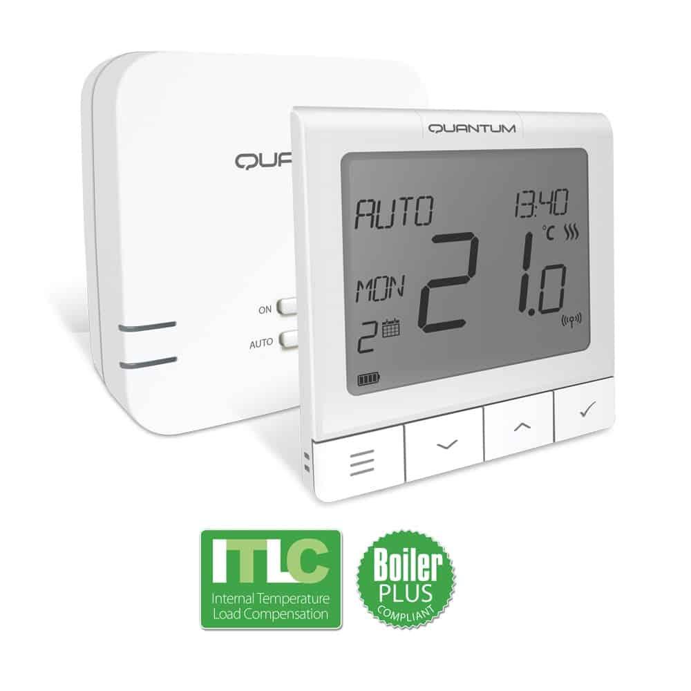 Безжичен стаен термостат Salus WQ610RF